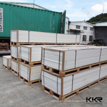 China Produced 2440*760*12mm Acrylic Solid Surface Sheets For Shower Walls