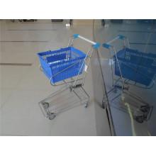 Supermarkt-Korb, Laufkatzen-Metallkorb-Wagen (YRD-J4)