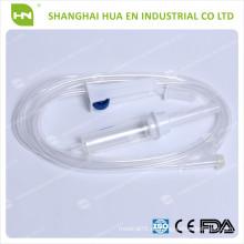 Einweg-PVC-Infusionsset mit Nadel oder ohne Nadel in China hergestellt