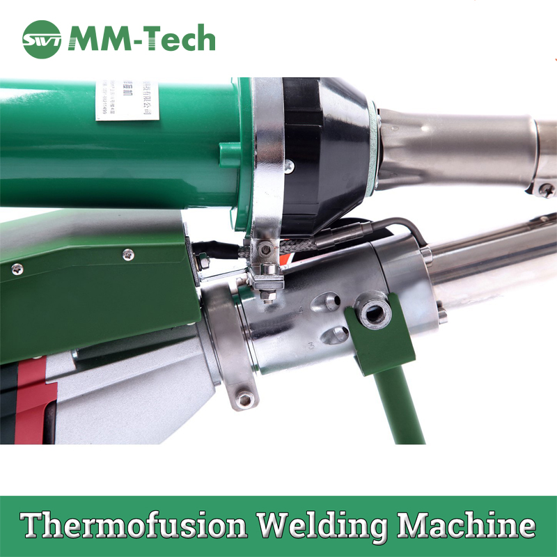 Plastic Extrusion Welder For Geomembrane