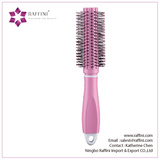 Raffini New China Supplier Plastic with Concealed Comb Round hairbrush