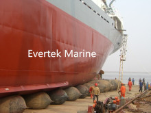ship inflatable marine salvage pontoon