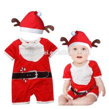 2017 nuevo verano bebé ropa bebé ckloth bebé mamelucos escalada ropa