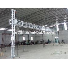 Spätestes Aufzugaufzug-Aluminiumbindersystem für Messeausstellungsstand von Shanghai