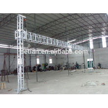 Último sistema de truss de aluminio del elevador de elevación para el stand de exhibición de la feria de Shanghai