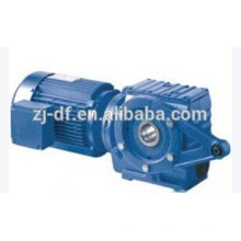 SAT77 torque arm mounted reducer Helical-worm gearmotor hollow shaft