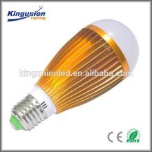 Estilo poupança de energia e27 7w levou bulbo de iluminação Corpo de lâmpada de alumínio levou bulbo