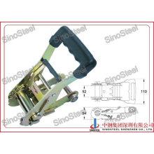 "2""- 50mm Rubber Medium Handle Ratchet Buckle"