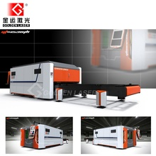 Full Closed Fiber Laser Cutting Machine 2000W with Pallet Table
