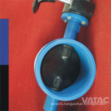 API 609 Cast Steel A216 Wcb Grooved/Clamped Butterfly Valve