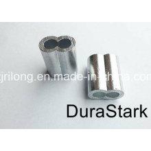 Stahl Drahtseil Aluminium Ferrules / Hülse (DR-Z0105)