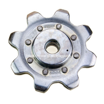 AH101219 Gathering Chain 8 Tooth Wheel para John Deere Cornhead