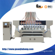4 Axis Table Moving CNC Router Woodworking Machine for 3D Engraving, Wood, Aluminum, Stone Material, (DT2212S-8)
