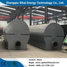Aceite de motor residual reciclado a la planta de destilación diesel