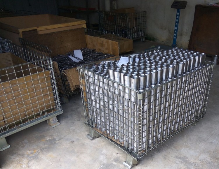 Galvanized Steel Storage Container