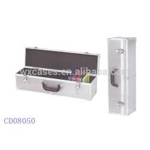 caja de CD de alta calidad CD 60 discos (10mm) de aluminio por mayor de China fabricante