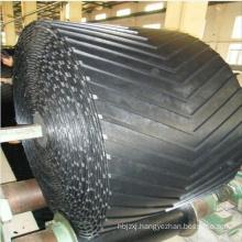 China Supplier EP Or NN Material  V Shape Patterned Chevron Conveyor Belt