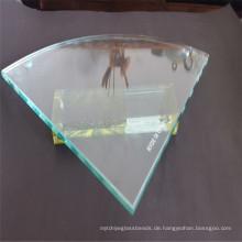 Gehärtetes sattes Regal / Blatt Glas für Glasmöbel