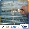 Cheap welded wire mesh fence panels in 6 gauge for pets cage/bird cage decoration