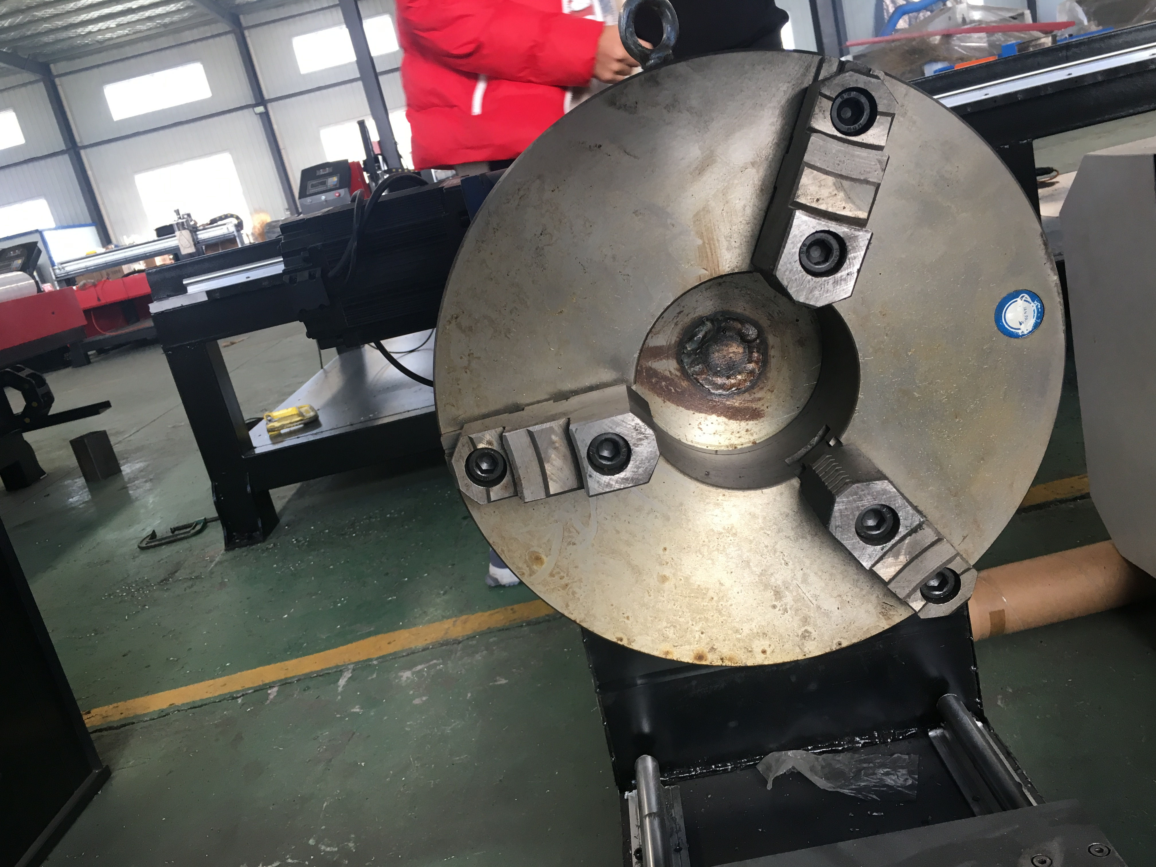 3 claw grab plate