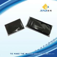 Pano de limpeza de impressão microfibra com embalagem individual