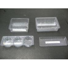 Plateau de nourriture de boursouflure en plastique pour l'empaquetage de biscuit