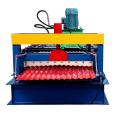 machine de fabrication de tôle ondulée