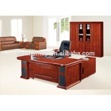 Desenhos de mesa de escritório em madeira