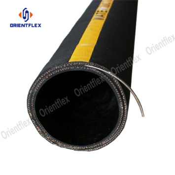"""cheap solid 6"""" water suction rubber hose"""