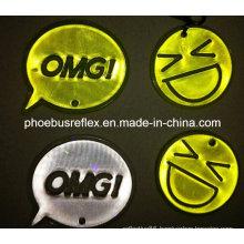 5cm X 5cm En13356 Reflector / Reflective Badge