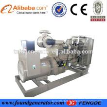 Prix d'usine approuvé CE Générateur diesel 25 kva, générateurs silencieux 20Kw-1300Kw à vendre