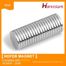 Strong powerful ndfeb neodymium disc shaped magnets on sale