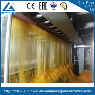 High speed AL-1600 S 1600mm non woven fabric making machine