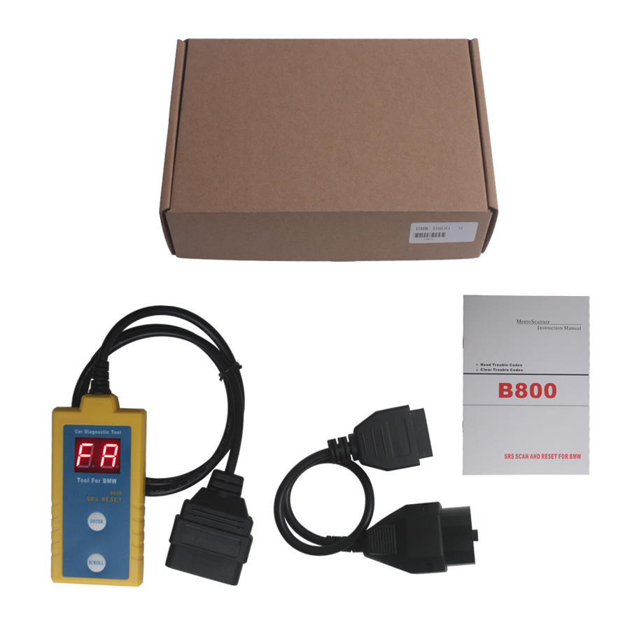 B800 for BMW Airbag Reset Tool