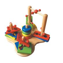 Wooden Shape Sorter Game Toys