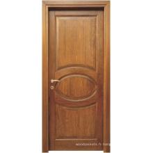 Conception unique de porte en bois (ED018)