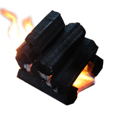 Machine Made BBQ Sawdust Briquette Charcoal grill