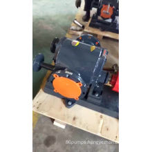 High temperature Insulated jacket asphalt gear pump