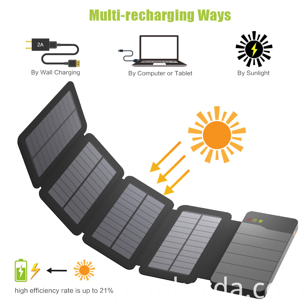 Multi-Recharging Solar Powerbank