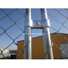 Power Coated Metal Garden Fencing / Galvanized Australia Escrime temporaire / Clôture galvanisée à chaud