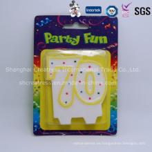 Número de la decoración del partido del precio de fábrica del producto profesional de China para las tortas
