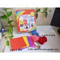 KIDS DIY yarn artificial flower china 3D Pompom