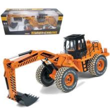 Carro de brinquedo de controle remoto carro elétrico modelo novo produto plástico com 6 canais (1094338)