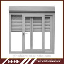Aluminiumglaslamellenfenster-Küchenschiebefenster Aluminium