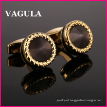 VAGULA Quality Catseye Gemelos Cuff Links L52505