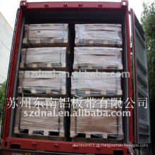 Corte de chapa de alumínio 5052 estoque de permutador de calor de barbatana H32