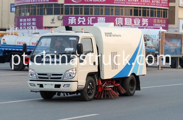 5T sweeper truck