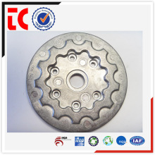 Chromated custom made aluminum plate die casting of auto parts