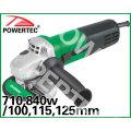 710/ 840W 100/ 115/ 125 мм инструмент электроэнергии (PT81216)