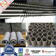 ASTM B862 Gr1 Titanium Welded Threaded tube